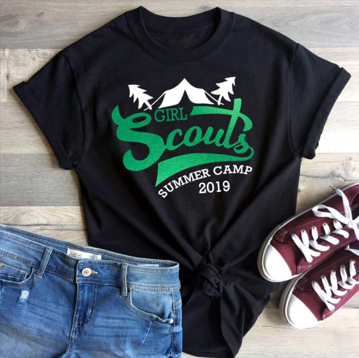 Girl Scout Summer Camp 2019 Shirt | Girl Scout / Boy Scout