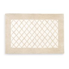 Ay Vivienne Bath Rug This Elegant Combines A Traditional Diamond Pattern In Two Tone Tufted Body The Clic Style Of Will