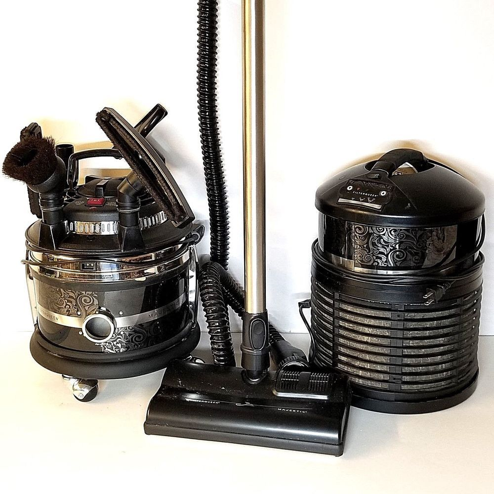 Filter Queen Majestic Canister Vacuum Cleaner Amp Defender