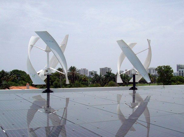 Alton Rd Miami Beach Solar Wind Hybrid System Installation Avec