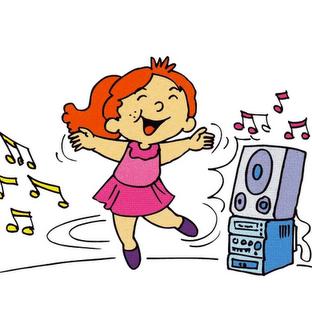 dibujo de niña bailando - Recherche Google | Λεξιλόγιο