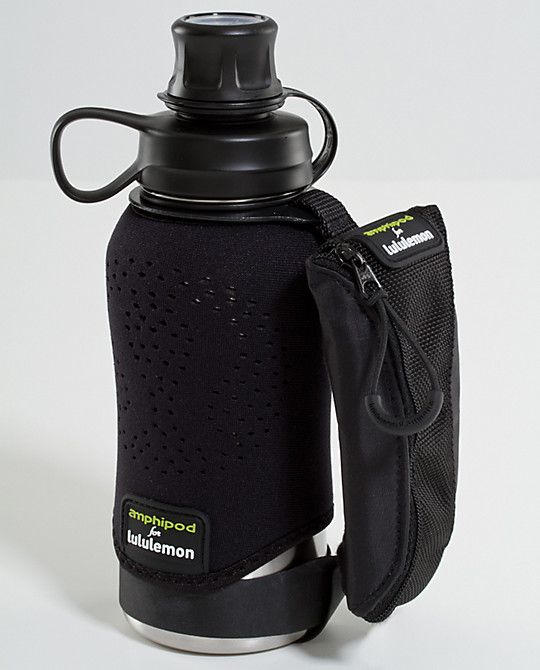 c992bb11e1 The BEST water bottle for running. Put your iphone or ipod in the zipper  pocket, slap your headphones on and go :) light weight and super  comfortable to ...