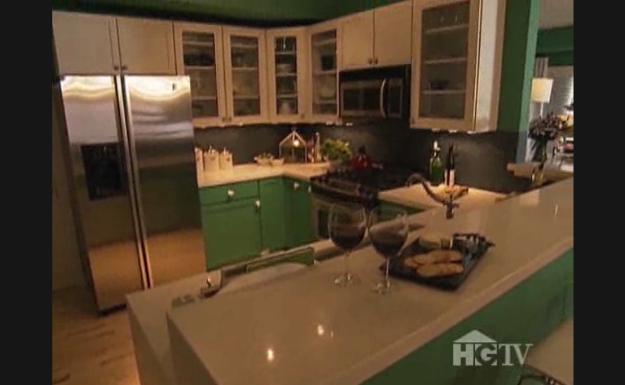Nice Green Kitchen Cabinets   Jennifer Bertrand Images