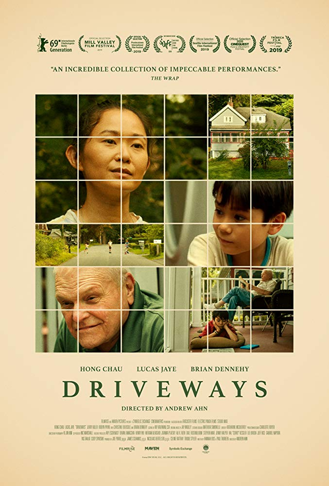 Driveways 2019 A Lonesome Boy Accompanies His Mother On A Trip To Clean Out His Late Aunt S House And Ends Up Forming An Unexpec Brian Dennehy Film Driveway