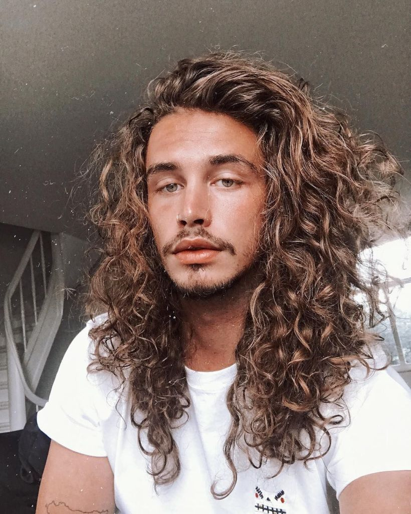 Pin by modern hairstylers on long hairstyles for men pinterest