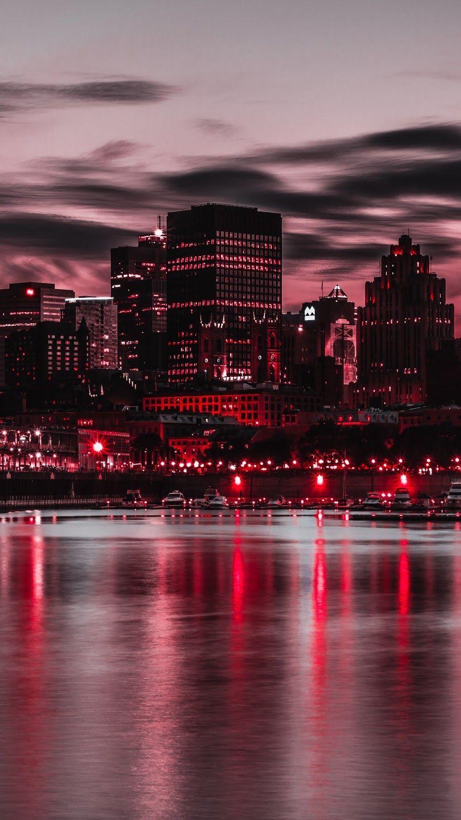 Night City City Lights Buildings City Wallpaper City Lights Wallpaper Cityscape Wallpaper