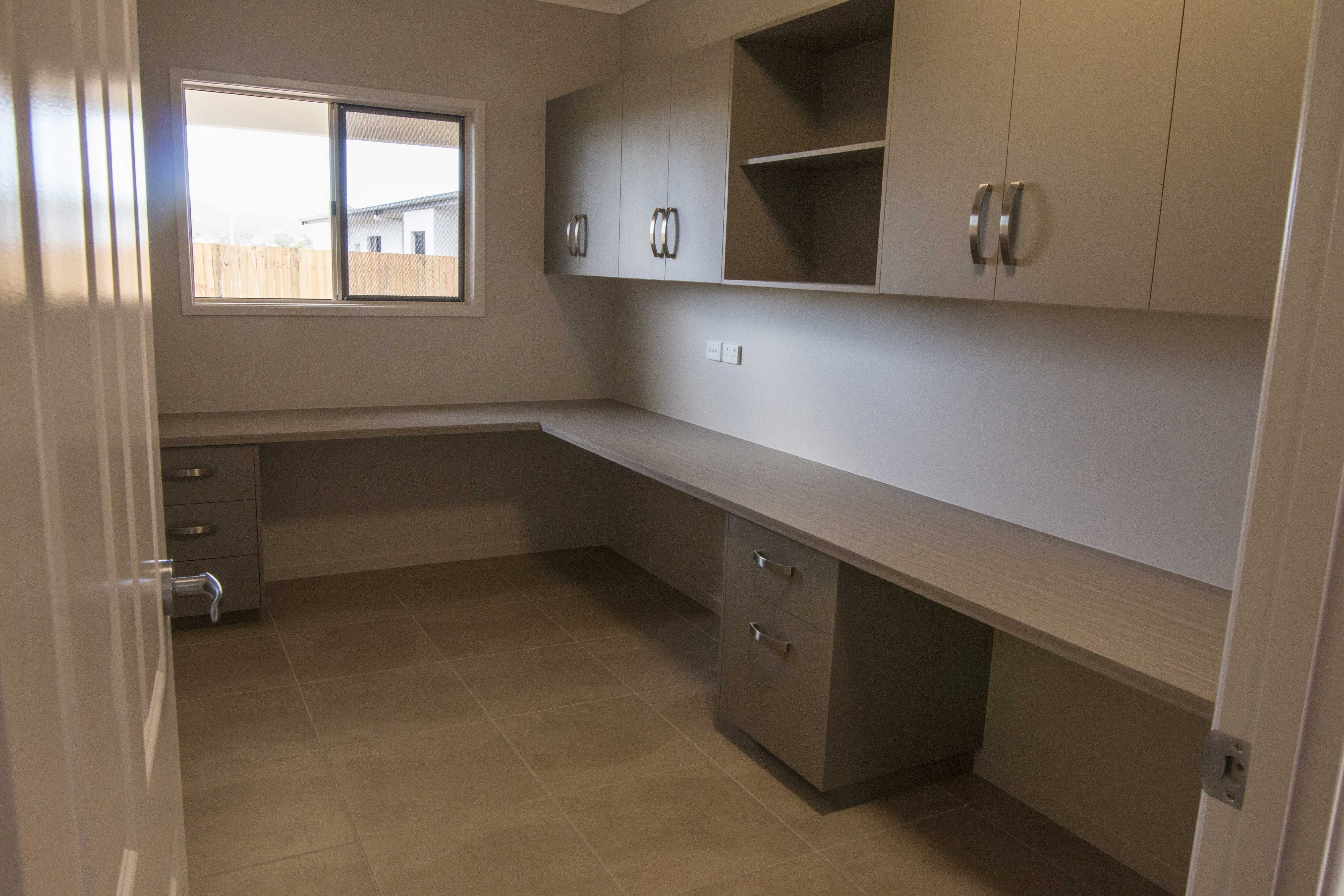 Storage Solution For Your New Home Fully Built In Office