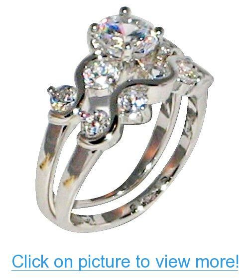 Pin By Anna Fresh On Platinum Rings Rings Ring Sets Center Stone