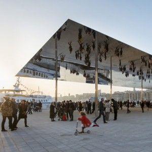 Vieux Port pavilion  by Foster   Partners