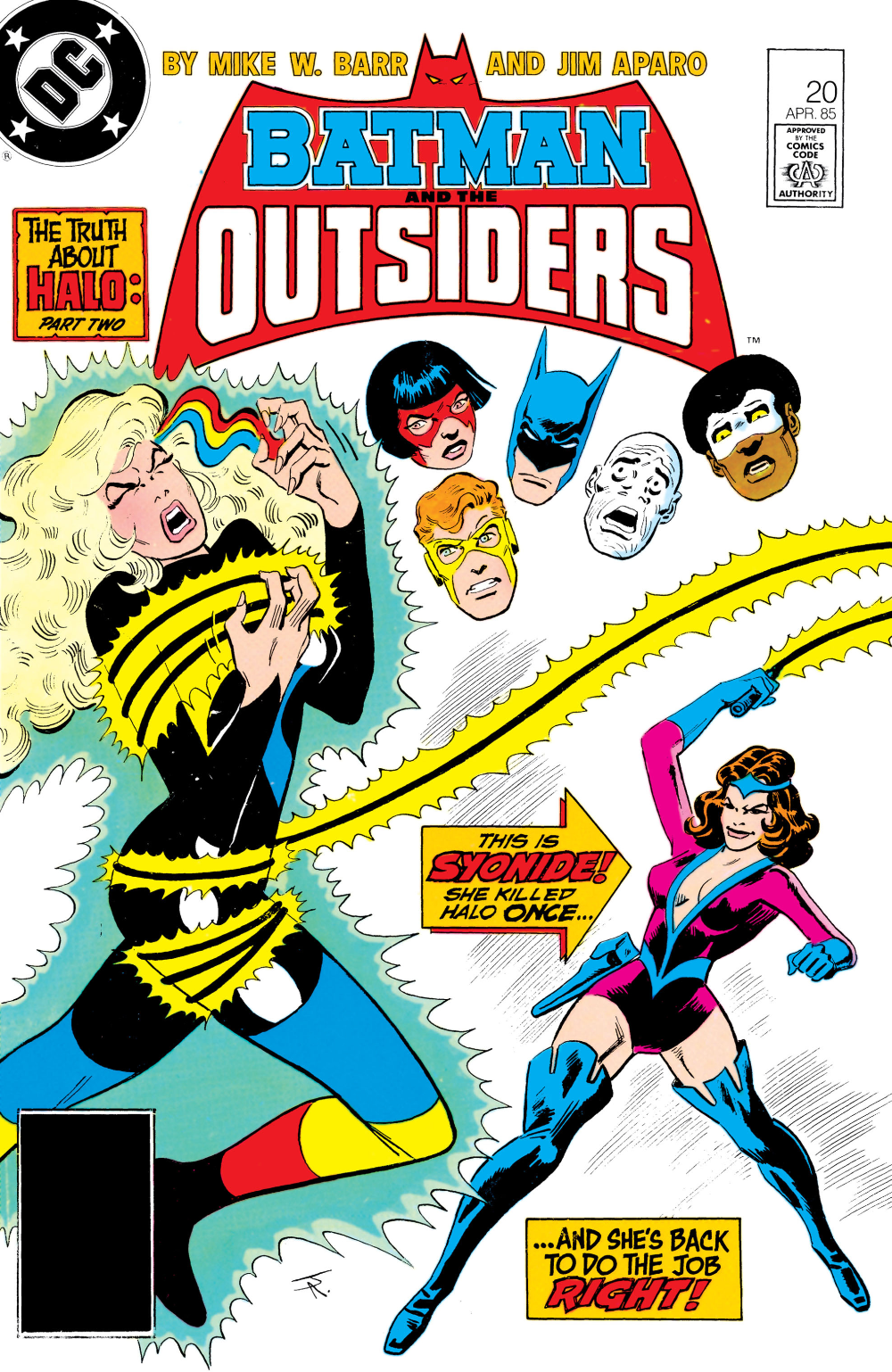 Batman And The Outsiders 1983 Issue 20 Read Batman And The Outsiders 1983 Issue 20 Comic Online In High Quality In 2020 Comics The Outsiders Comic Books
