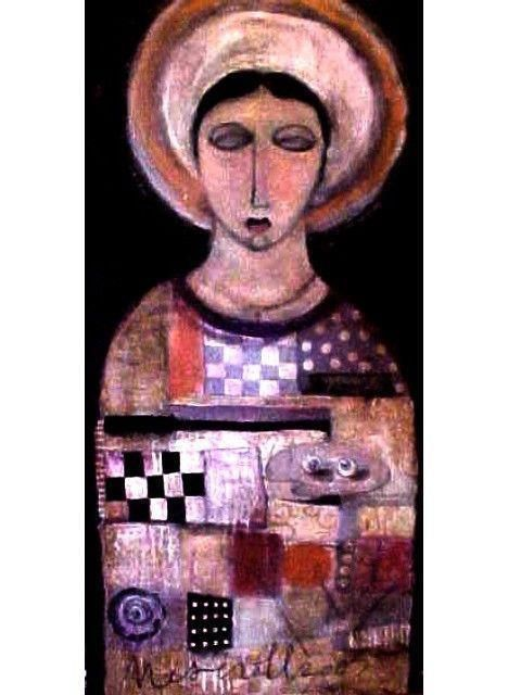 Lauren Shuran Mesenroll, 2003: St. Lucy. She was martyred during Diocletian's reign of terror. Her feast day is particularly celebrated because for centuries under the old calendar, it fell on the first day of winter, the shortest day in the Northern Hemisphere; on her feast the day would start to lengthen and more light began to appear.