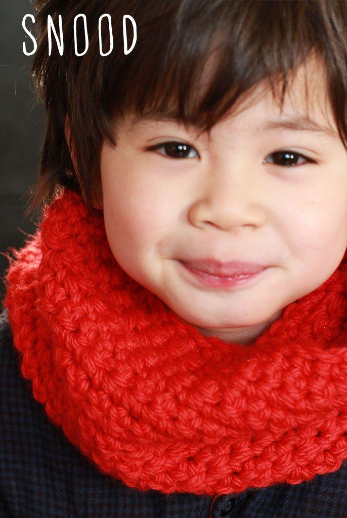 Snood pour enfant ( 4 ans)   tricoter crocheter bébé   Snood ... 7ea3c05a8fb