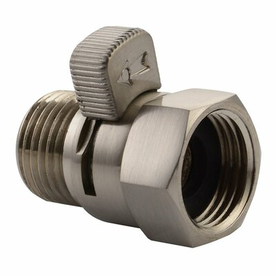 Anglesimple Water Flow Control Valve Finish Brushed Nickel