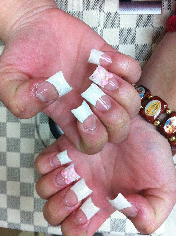Moon Shape Acrylic Nail Tips Google Search Acrylic Nail Tips Nails Acrylic Nails