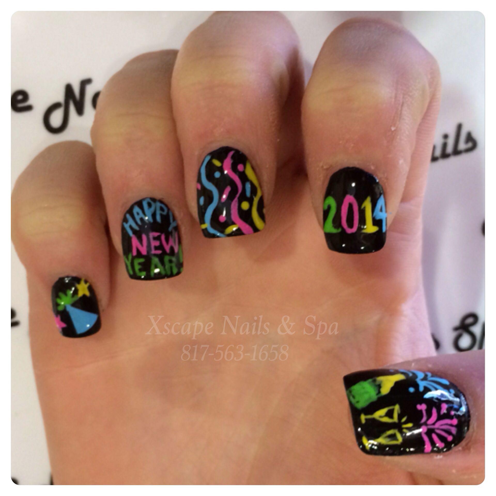 New Year Nails | Cute Nails Designs | Pinterest
