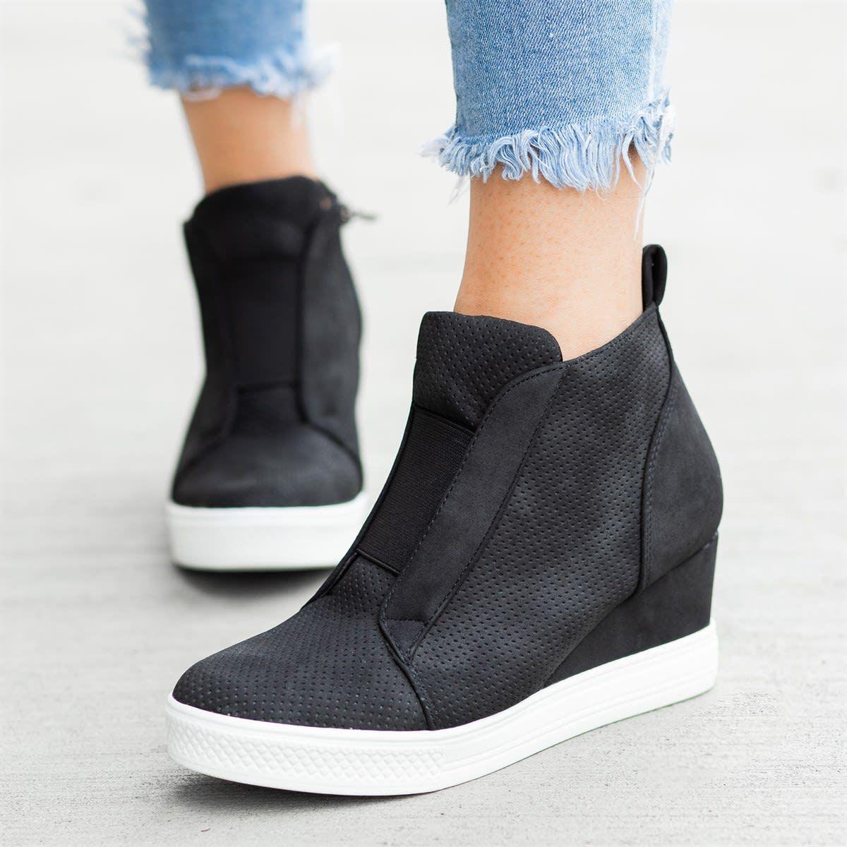 Trendy Sneaker Wedges | Wedge sneakers