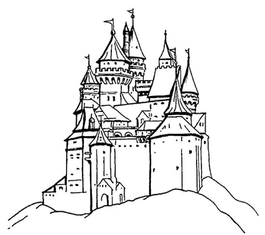 10++ Disney castle coloring pages ideas