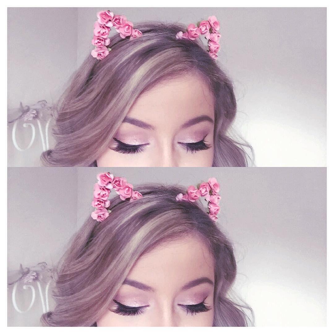 Floral Cat Ears Headband Lovecatherine.co.uk Instagram