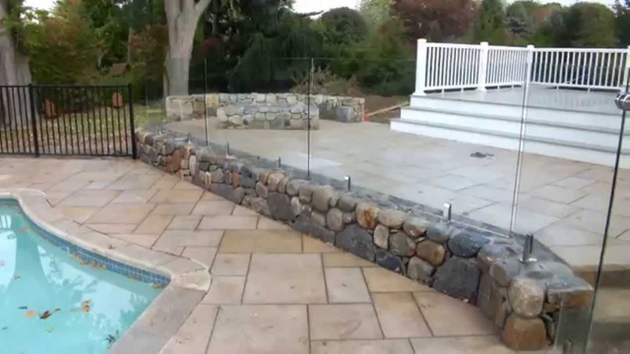 Image Result For Glass Fence For Pool And Retaining Wall Glass Pool Fencing Glass Pool Pool Fence