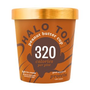 Halo Top Peanut Butter Cup Ice Cream Shop Ice Cream At H E B Peanut Butter Cup Ice Cream Peanut Butter Cups Ice Cream Flavors