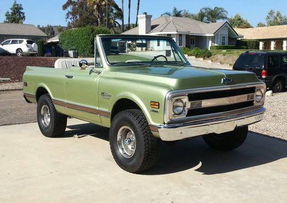 1970 Chevrolet K5 Blazer 4x4 Chevrolet Blazer Trucks Chevrolet