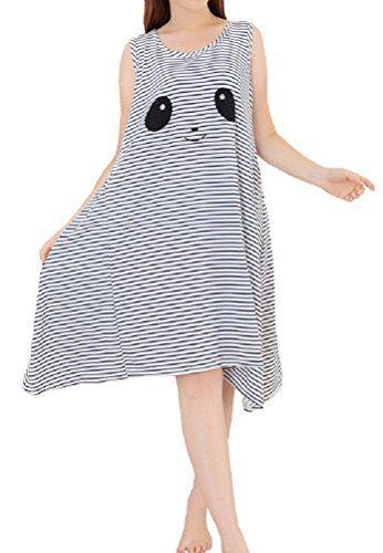 0f9f7275f7 Sweet Girls Ladies Plus Size Scoop Neck night gown Lingerie Nightie  Sleepdress Sleepshirts Notice  One