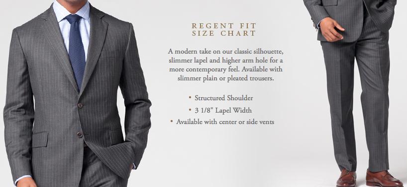 The Regent Fit