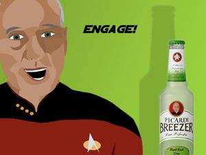 Hahaha! its an Earl Grey cocktail for Jean-Luc Picard!