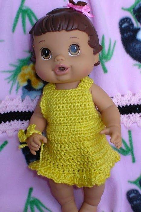 Baby Alive al crochet