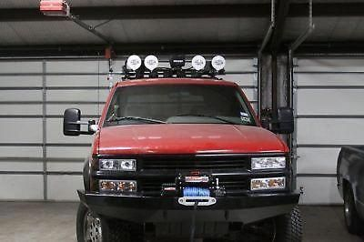 Custom Winch Bumper For 1988 1998 Chevy And Gmc Full Size Trucks
