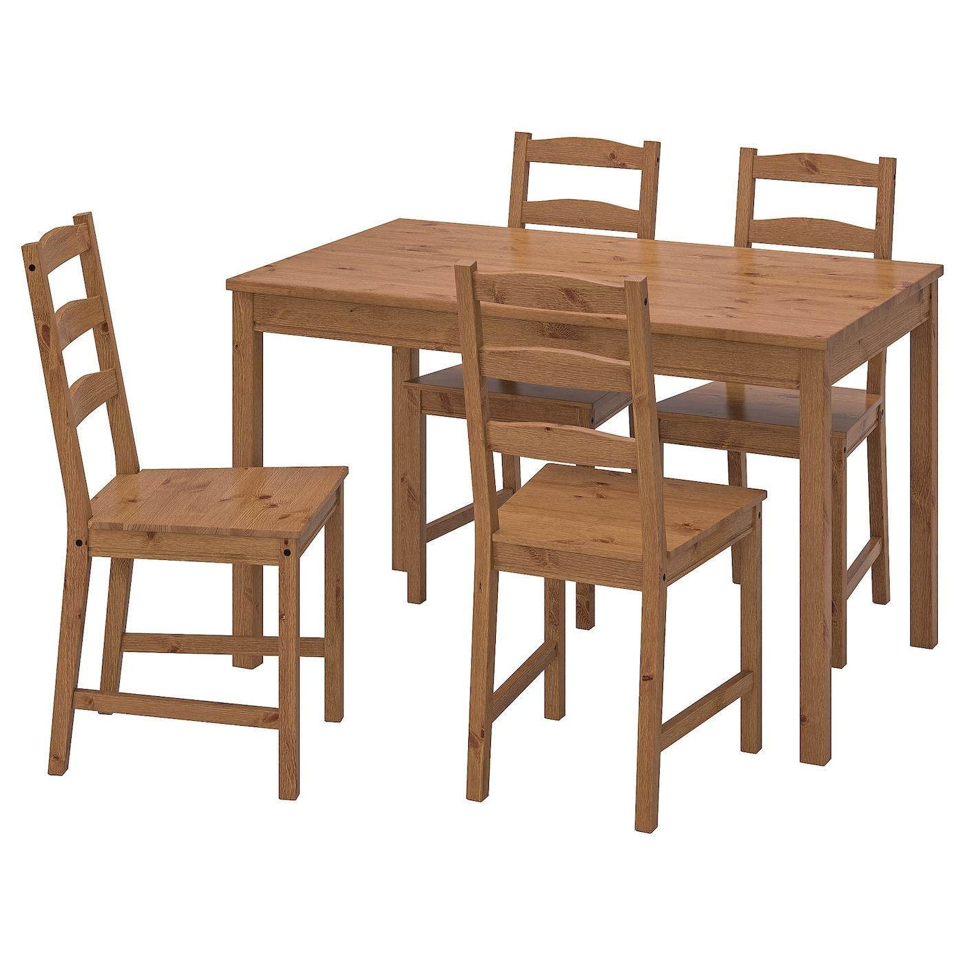 Ikea Jokkmokk Antique Stain Table And 4 Chairs Ikea Wood Table