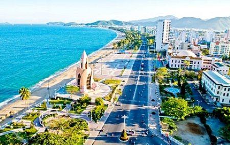 Nha Trang beautiful beach in Vietnam