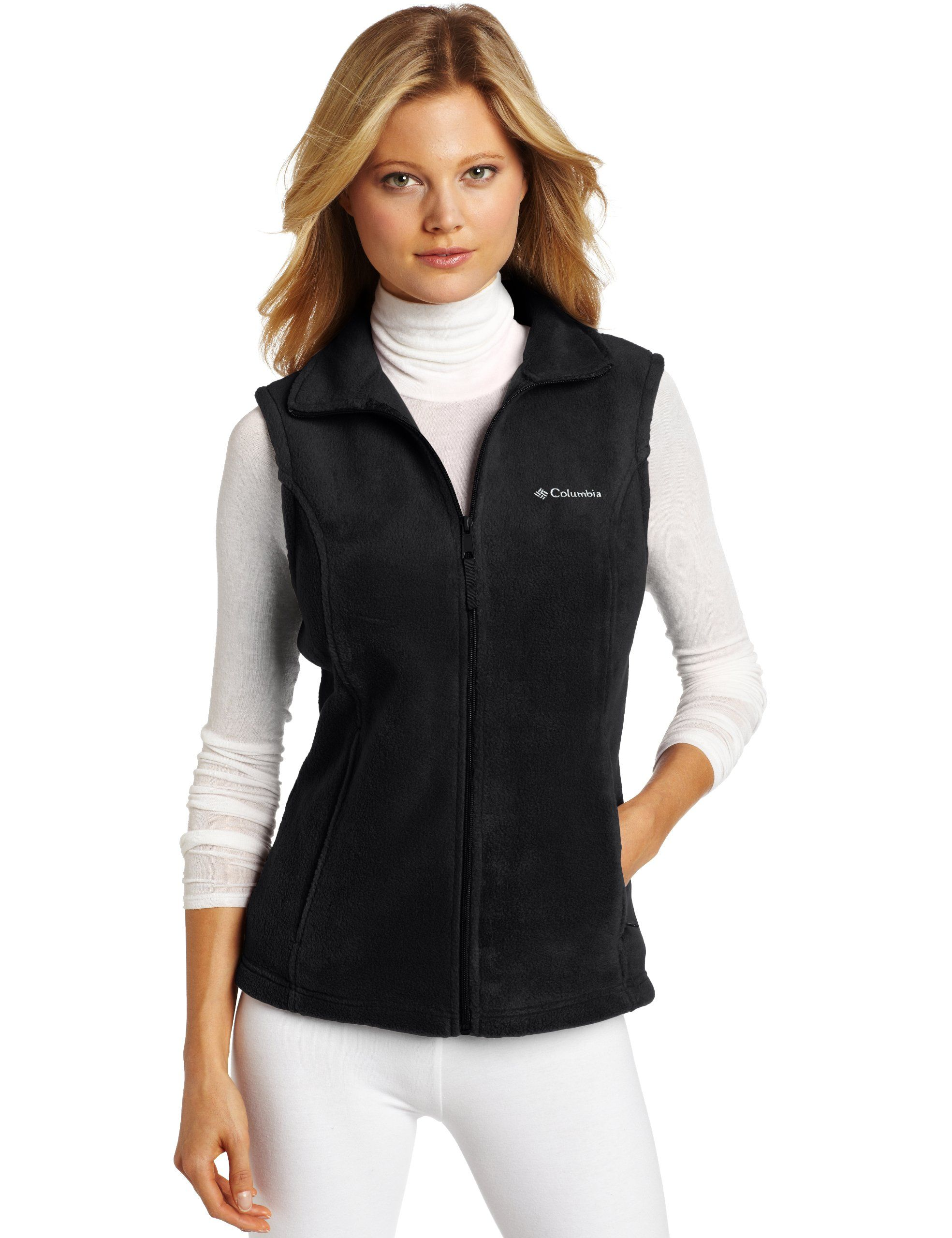 b3053dc5ae4 Columbia Women s Benton Springs Vest at Amazon Women s Clothing store   Fleece Outerwear Vests
