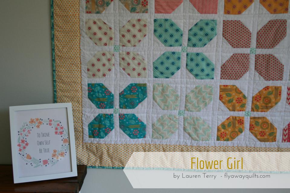 Flower Girl Quilt (Moda Bake Shop) | Quilts, Girls quilts ...