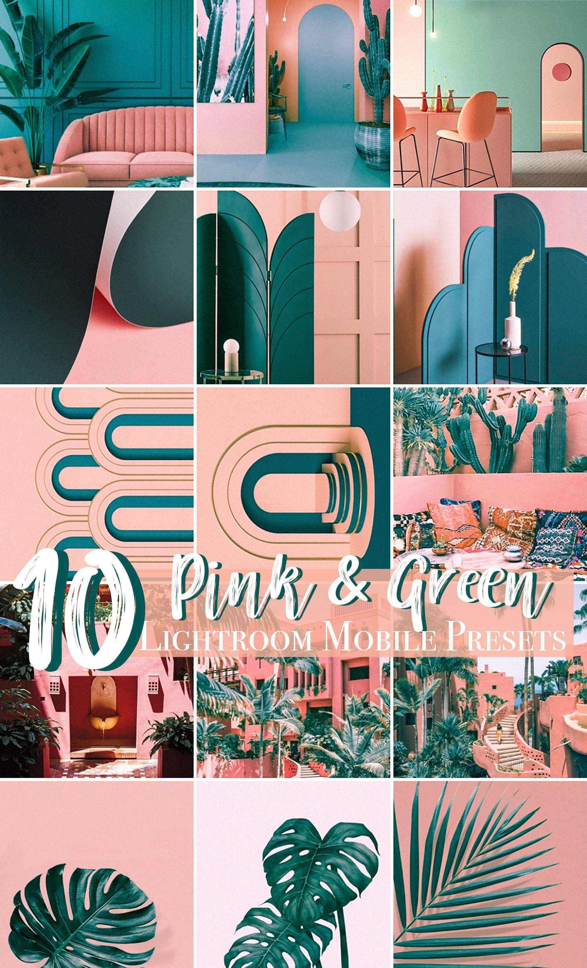 10 Retro Color MOBILE Lightroom Presets