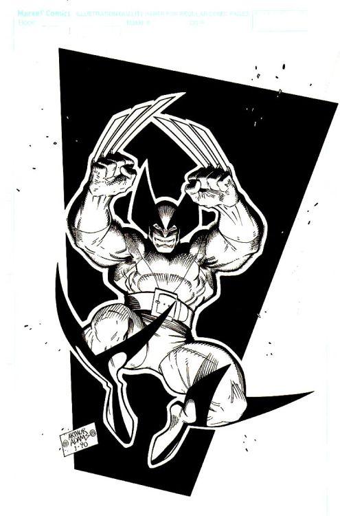 WEST COAST AVENGERS • Wolverine | Arthur Adams