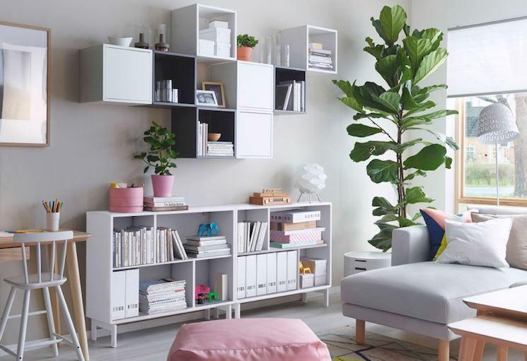 Mobili soggiorno Ikea | Sala nel 2019 | Arredamento casa ...
