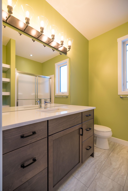 Bright Stylish Bathroom Vanity Lighting Harmony Builders