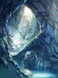 洞窟 イラストの画像検索結果 Reflections Lights 洞窟 アート