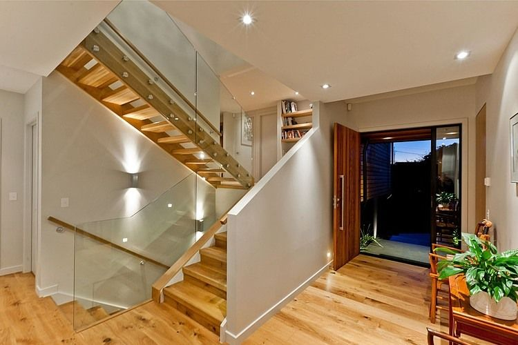 Airy house A Modern Two Storey Dwelling Inspiring Calmness in New ...