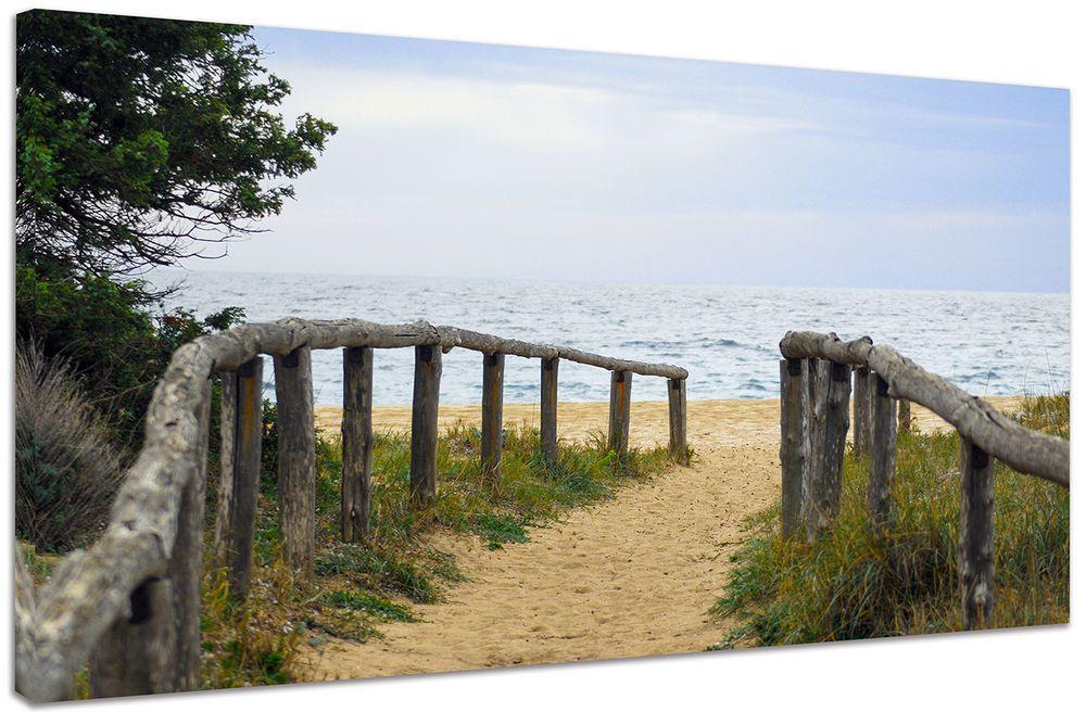 Quadro Moderno Paesaggio Mare Spiaggia Relax Sogno Arredo Casa Arte