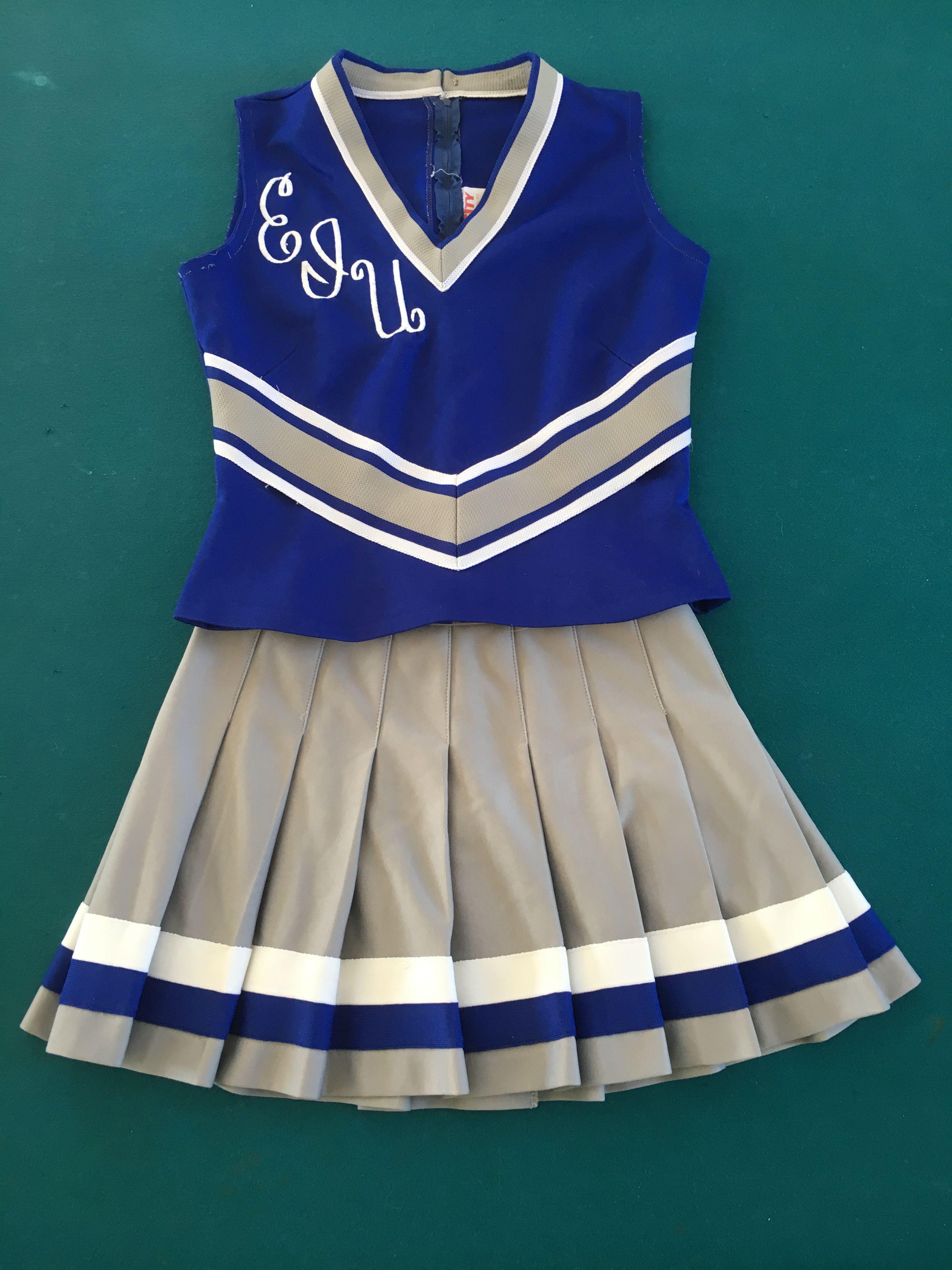 9a0dfe983c8 Vintage 80 s EIU cheerleader uniform by Varsity