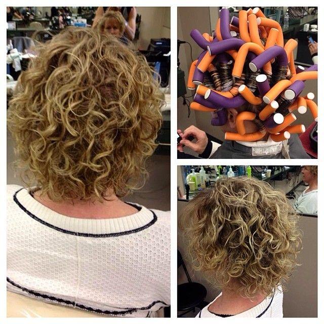 American Wave Short Permed Hair Permed Hairstyles Short Hair Styles