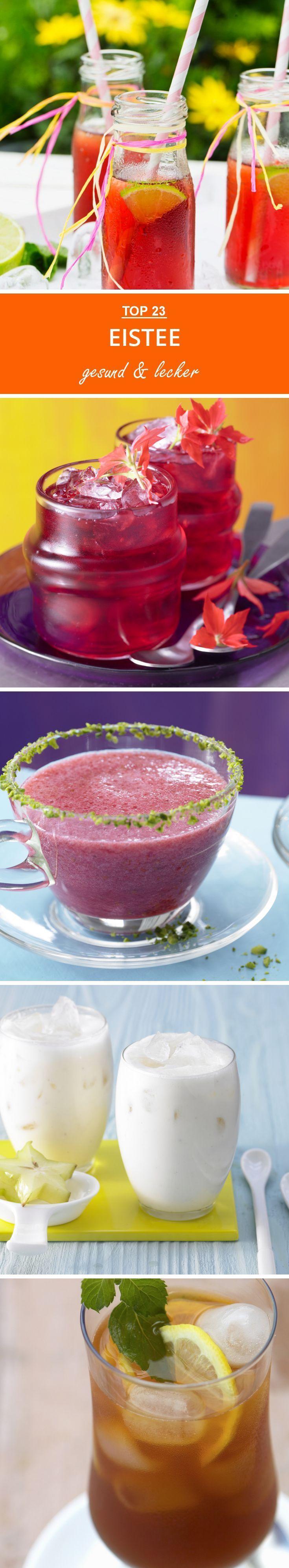 10x Eistee zum Selbermachen EAT SMARTER Kochbücher Food