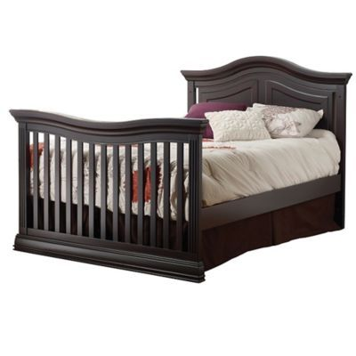 Sorelle Model 215 Full Size Bed Rails Conversion Kit In Dark Espresso In 2020 Bed Rails For Toddlers Bed Rails Bed