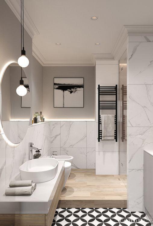 Photo of 5 consigli per illuminare un bagno cieco! | Fatto con la casa,  #Bagno #BagnoDesign #casa