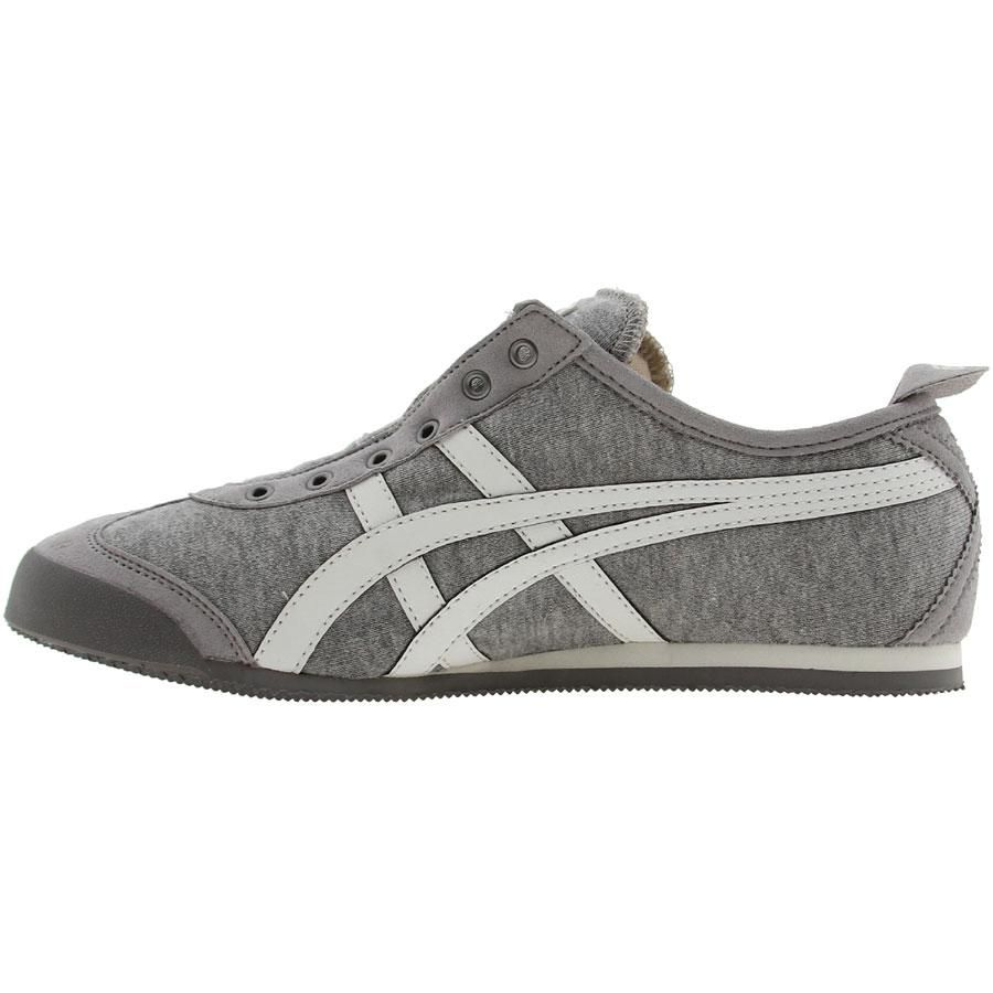 size 40 7f2d4 99f6a Asics Womens Onitsuka Tiger Mexico 66 Slip On (heather grey   w   onitsukatiger