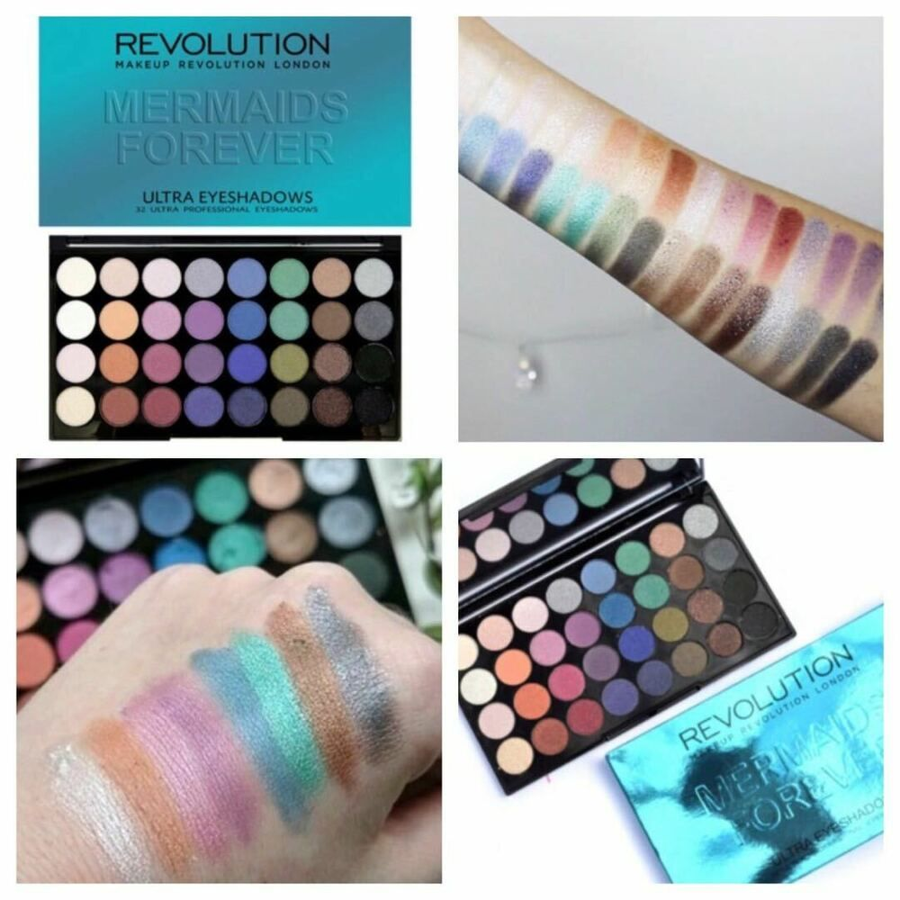 Makeup Revolution Eyeshadow Palette Mermaids Forever