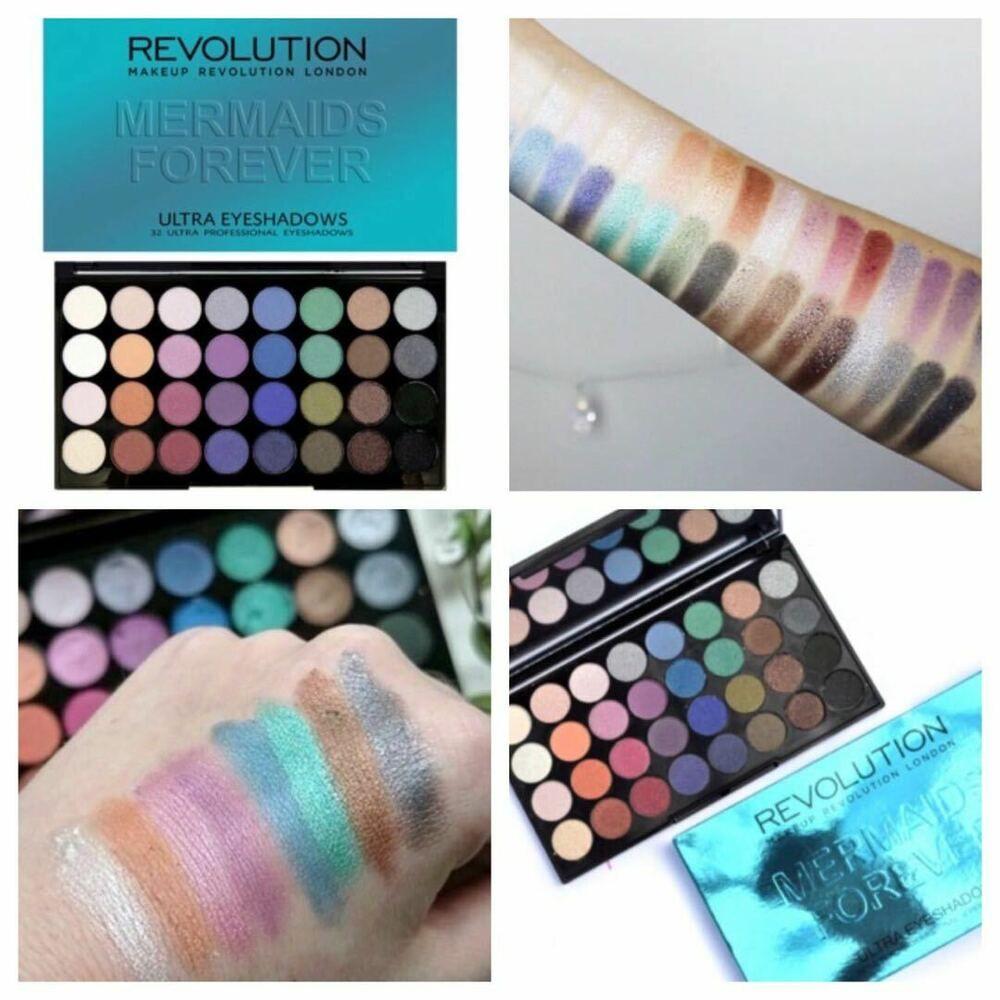 Makeup Revolution Eyeshadow Palette Mermaids Forever