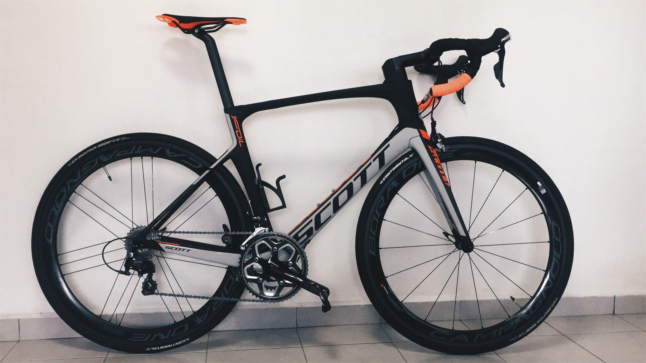 1f0550d3911 Scott Foil 30 with Campagnolo Bora One 50 | Road bikes | Road bikes ...